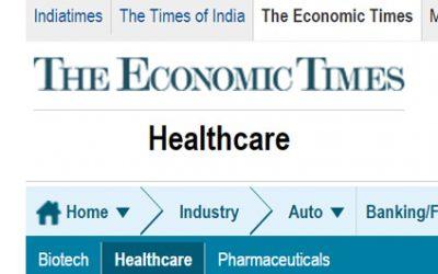 The Economic Times schreibt über Schweizer Ayurveda-Berufe